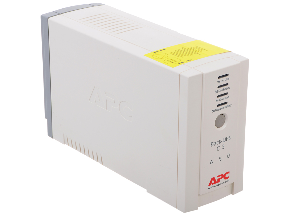 ИБП APC BK650EI Back-UPS 650VA/400W apc bk350ei back ups 350 ибп