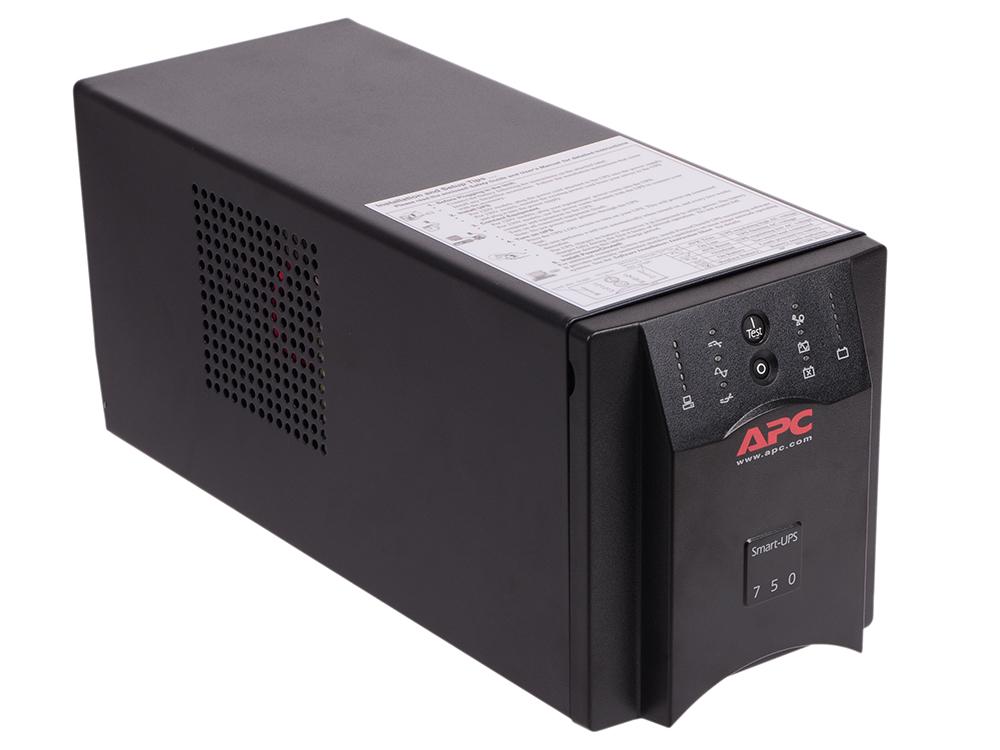 ИБП APC SUA750I Smart-UPS 750VA/500W ибп apc smart 750va smt750rmi2u