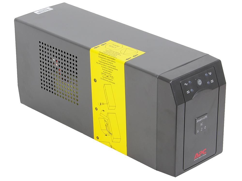 ИБП APC SC620I Smart-UPS 620VA/390W ибп apc smc1000i smart ups 1000va 600w