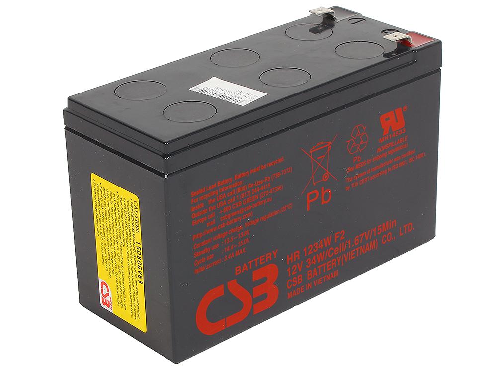 все цены на Аккумулятор CSB HR1234W F2 12V9Ah