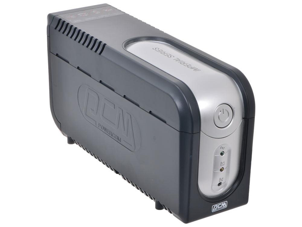 ИБП Powercom IMP-825AP Imperial 825VA/495W USB, AVR, RJ11, RJ45 (3+2 IEC) ибп powercom imd 825ap imperial 825va 495w display usb avr rj11 rj45 3 2 iec