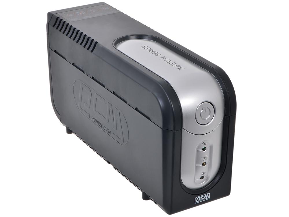ИБП Powercom IMP-525AP Imperial 525VA/315W USB,AVR,RJ11,RJ45 (3+2 IEC)* ибп powercom imp 2000ap imperial 2000va 1200w usb avr rj11 rj45 4 2 iec