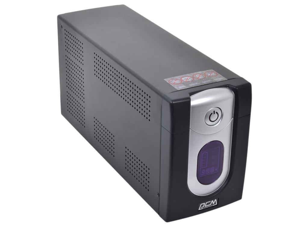 ИБП Powercom IMD-1025AP Imperial 1025VA/615W Display,USB,AVR,RJ11,RJ45 (4+2 IEC) ибп powercom imd 825ap imperial 825va 495w display usb avr rj11 rj45 3 2 iec