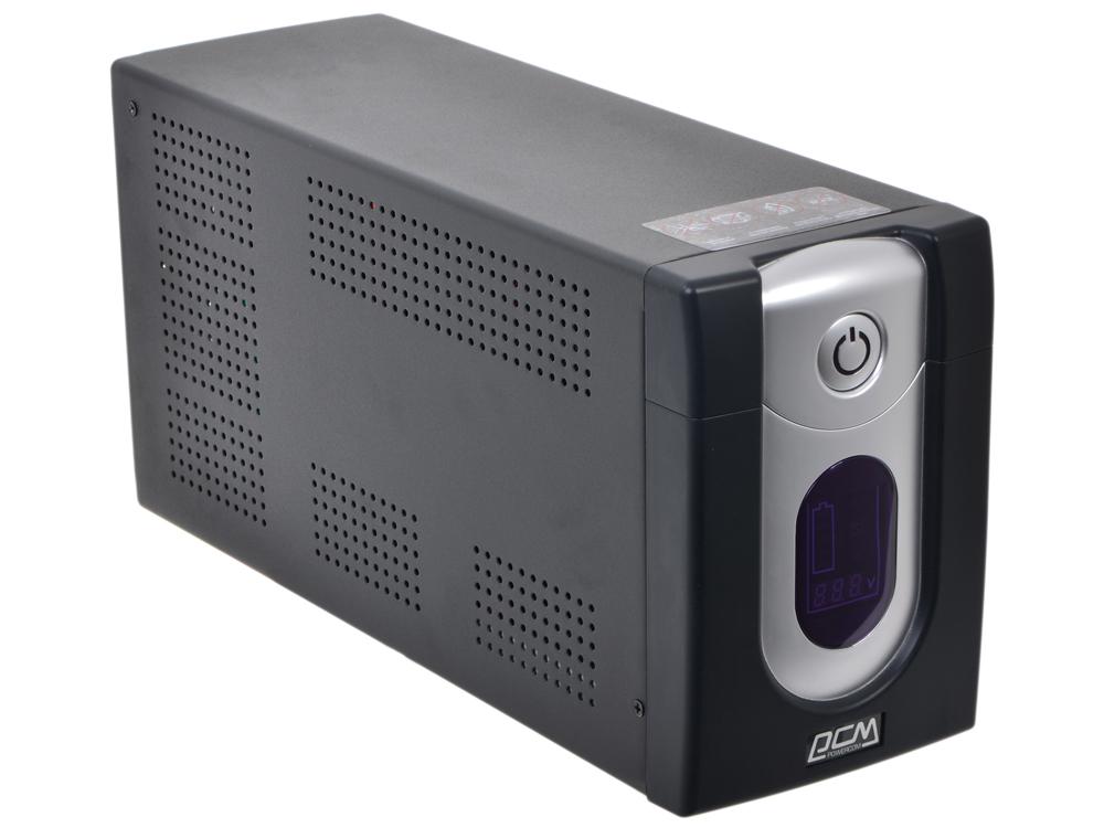 ИБП Powercom IMD-1500AP Imperial 1500VA/900W Display,USB,AVR,RJ11,RJ45 (4+2 IEC) defender avr real 1500va