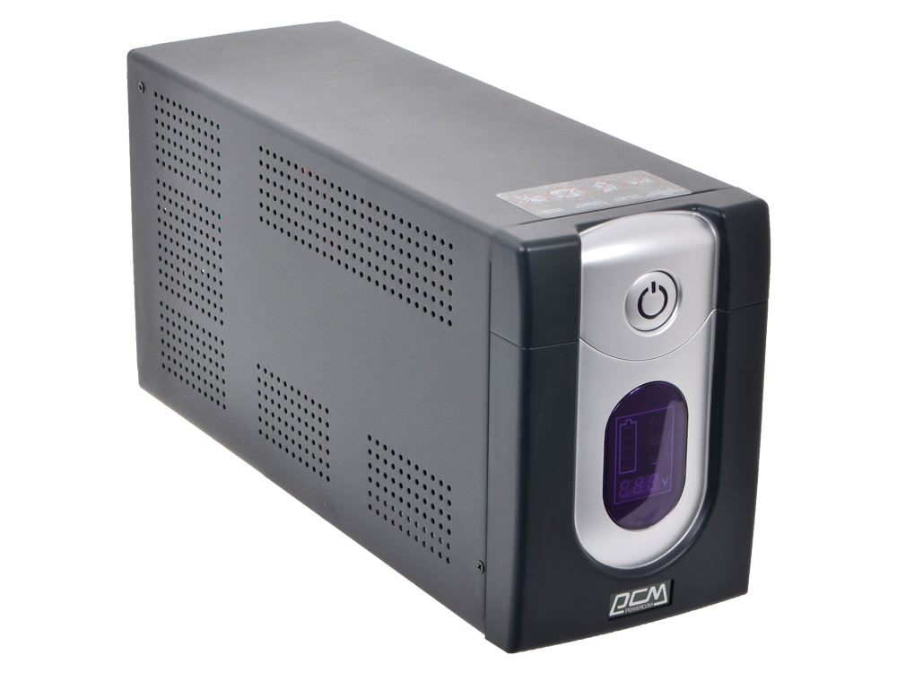 ИБП Powercom IMD-2000AP Imperial 2000VA/1200W Display,USB,AVR,RJ11,RJ45 (4+2 IEC)