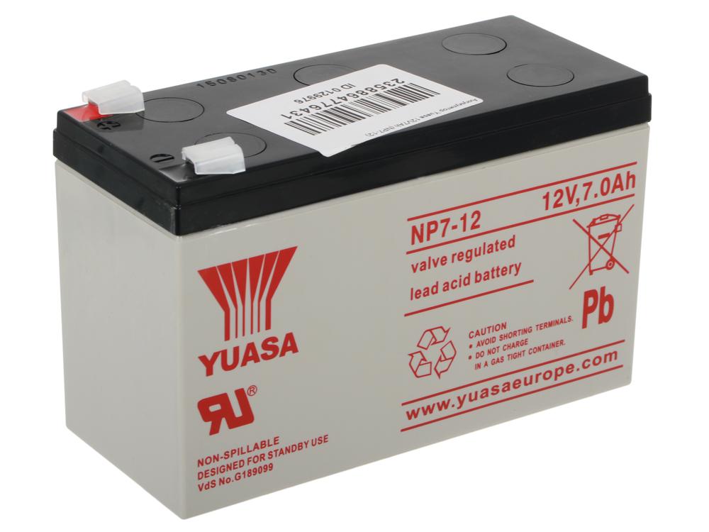 все цены на Аккумулятор Yuasa 12V7Ah (NP7-12) онлайн
