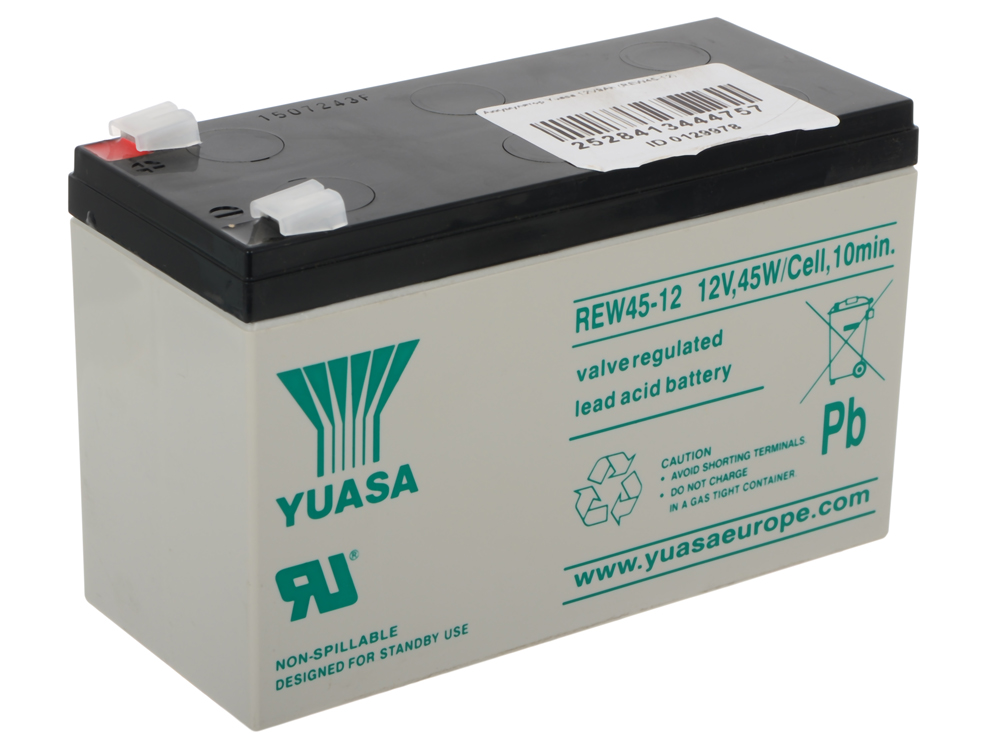 Аккумулятор Yuasa 12V9Ah (REW45-12) аккумулятор
