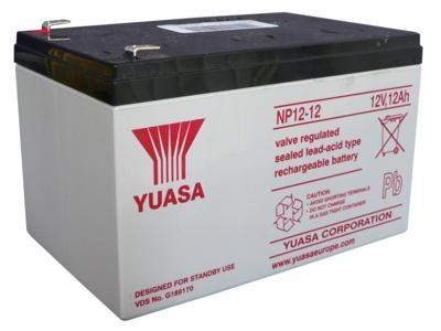 все цены на Аккумулятор Yuasa 12V12Ah (NP12-12)