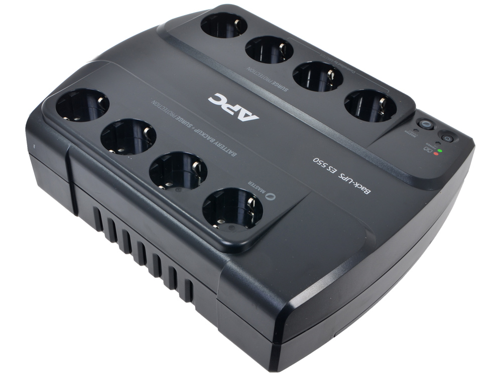 ИБП APC BE550G-RS Power-Saving Back-UPS ES 8 Outlet 550VA/330W 12v 120w motorcycle car power socket outlet
