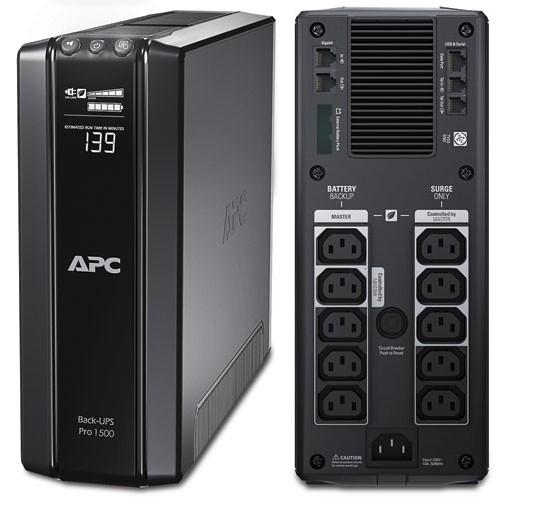 ИБП APC BR1500GI Power Saving Back-UPS Pro 1500VA/865W