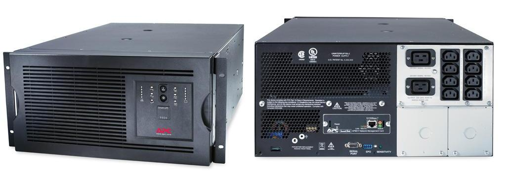 ИПБ APC SUA5000RMI5U Smart-UPS 5000VA/4000W Rackmount/Tower apc by schneider electric smart ups 5000 sua5000rmi5u