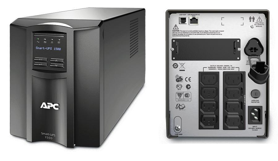 ИБП APC SMT1500I Smart-UPS 1500VA/980W LCD