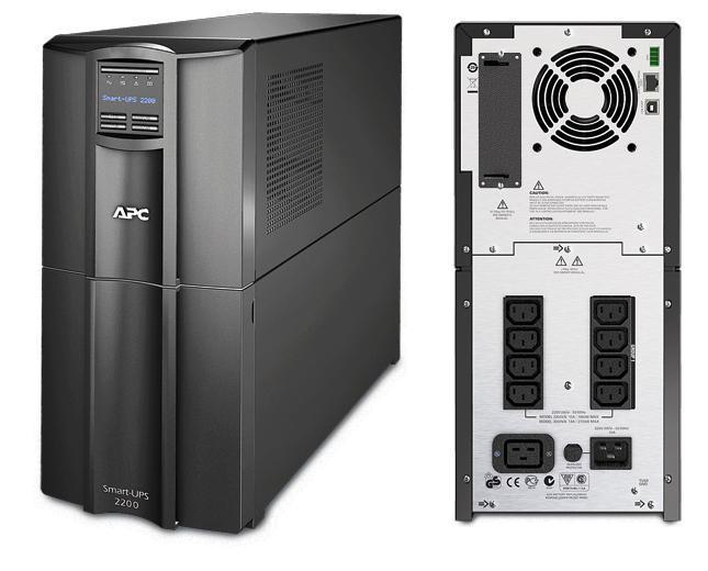 ИБП APC SMT2200I Smart-UPS 2200VA/1980W LCD ибп apc smart ups smt 2200va 1980w smt2200rmi2unc
