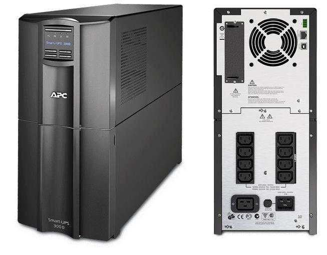 ИБП APC SMT3000I Smart-UPS 3000VA/2700W LCD ибп apc smt1500rmi2u smart ups 1500va 1000w lcd 2u rackmount