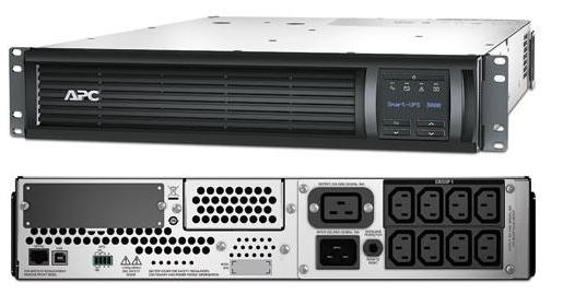 ИБП APC SMT3000RMI2U Smart-UPS 3000VA/2700W LCD 2U Rackmount chrome bar