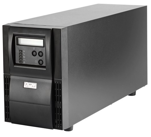 Фото ИБП Powercom VGS-1000XL Vanguard 1000VA/900W RS232,USB (2 x EURO)* dia 400mm 900w 220v w 3m psa