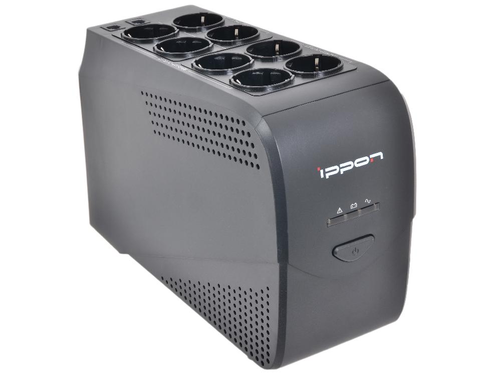 все цены на ИБП Ippon Back Comfo Pro 600 600VA/360W RS-232,USB (6+2 EURO)