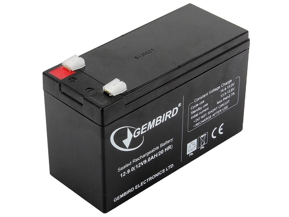 Аккумулятор для ИБП Gembird BAT-12V9AH аккумулятор для ибп ventura gp 6 4 5 s