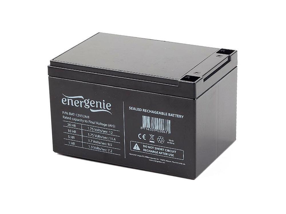 Аккумулятор для ИБП Gembird BAT-12V12AH аккумулятор csb gp12120 f2 12v12ah