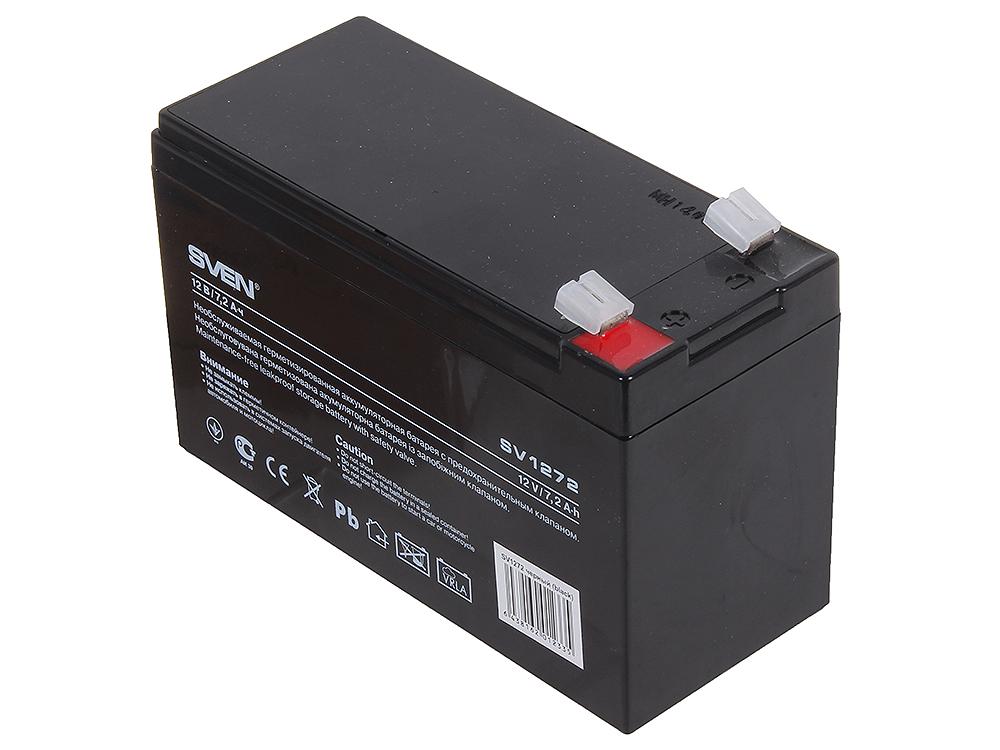 Аккумулятор SVEN SV 12V 7.2Ah sven sv 03100310ub