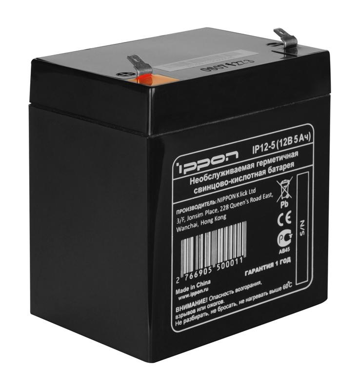 все цены на Аккумулятор Ippon IP12-5 12V/5Ah