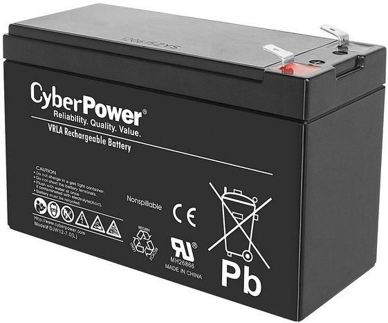 Аккумулятор CyberPower 12V7.2Ah