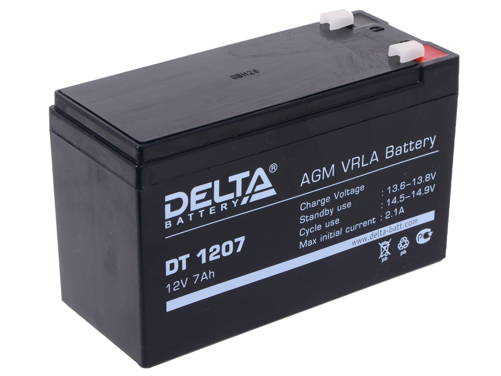 DT 1207 delta battery dt 1207 12v 7ah