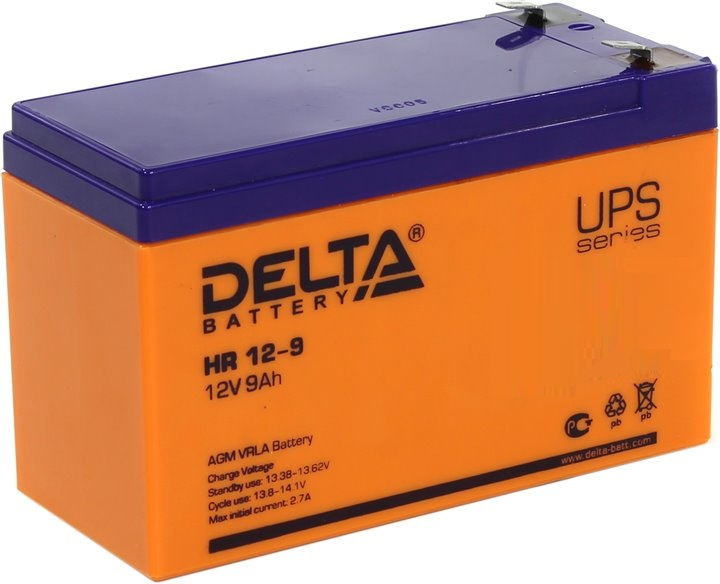 HR 12-9 battery delta hr12 12 12a hs 12w