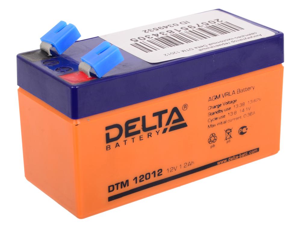 Аккумулятор герметичный свинцово-кислотный Delta DTM 12012