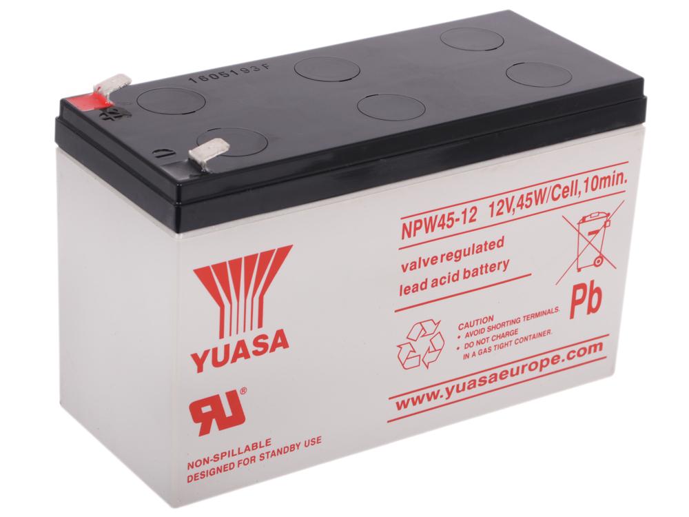 Аккумулятор Yuasa 12v9Ah (NPW 45-12) аккумулятор