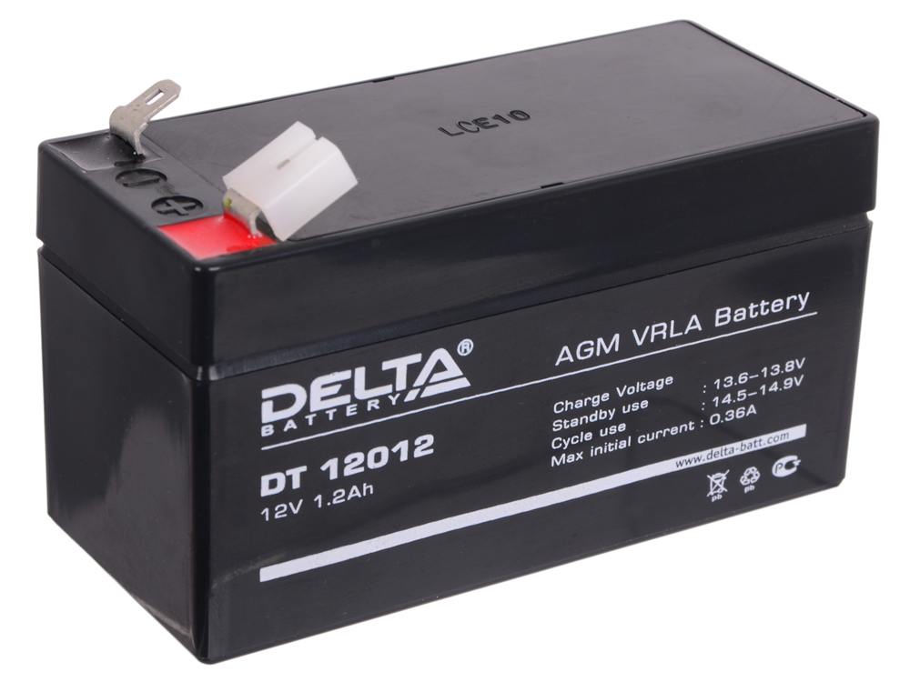 DT 12012 delta battery dt 1207 12v 7ah