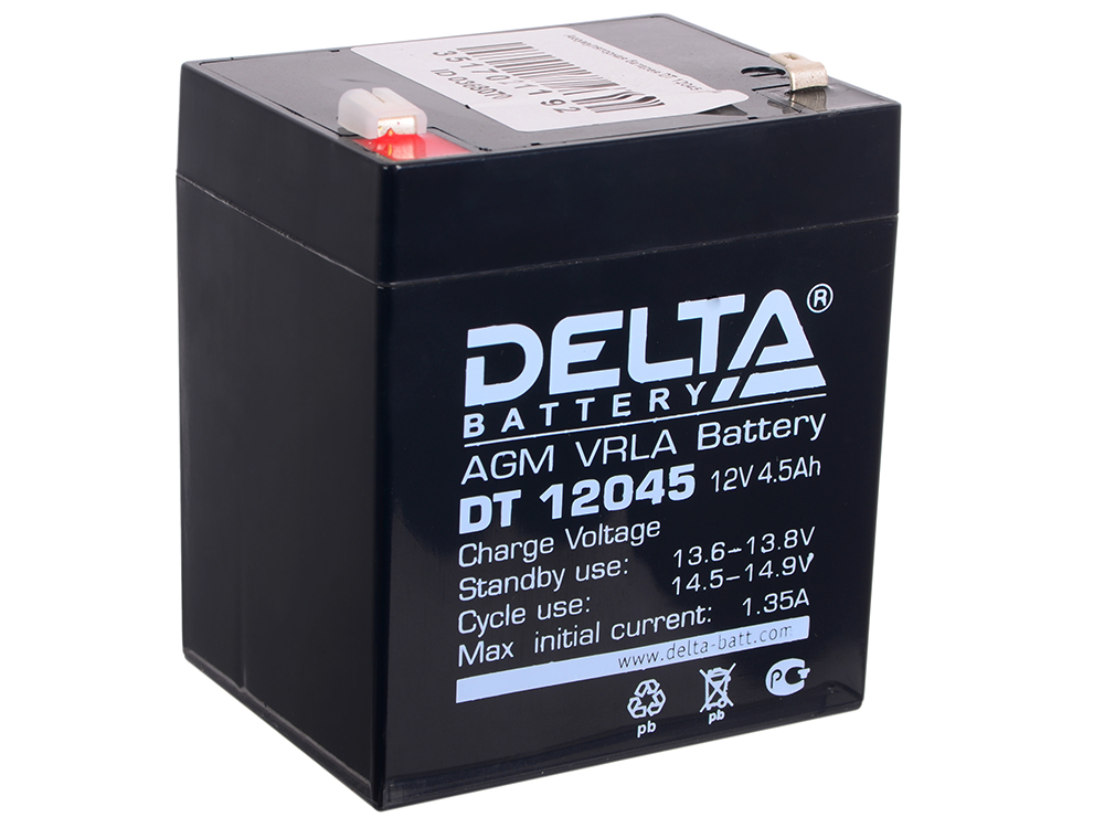 DT 12045 delta battery dt 1207 12v 7ah