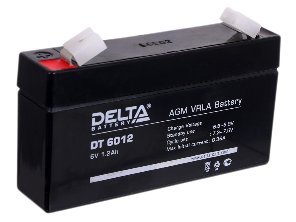 DT 6012 delta battery dt 1207 12v 7ah