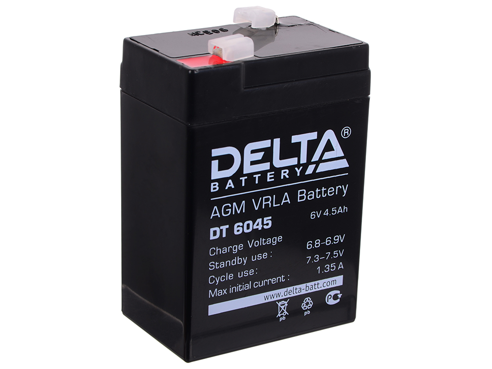 DT 6045 delta battery dt 1207 12v 7ah