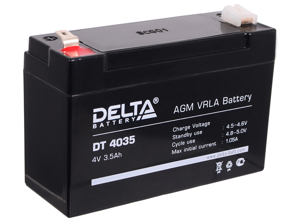 DT 4035 delta battery dt 1207 12v 7ah