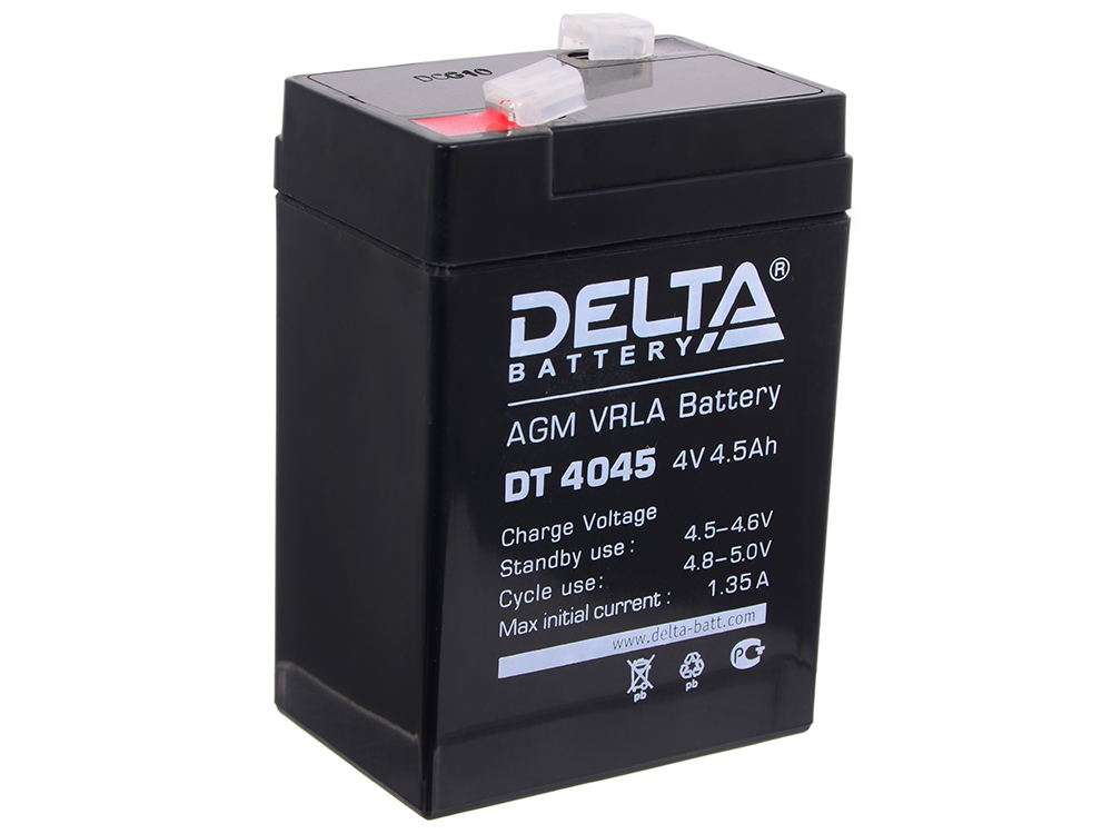 DT 4045 delta battery dt 1207 12v 7ah