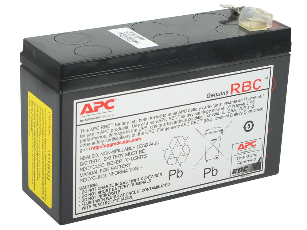 все цены на Батарея APC APCRBC106 Replacement Battery Cartridge 106 онлайн
