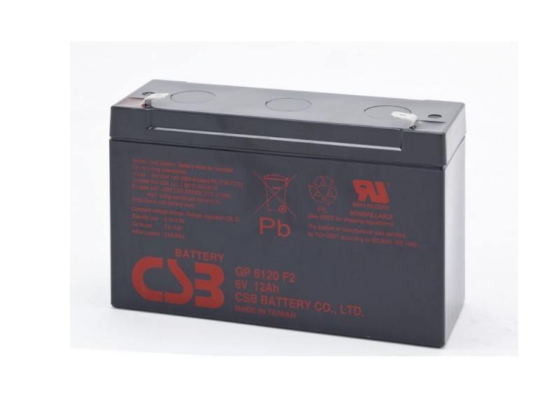 Батарея CSB GP6120 6V/12AH mp2611 mp2611dl lf z