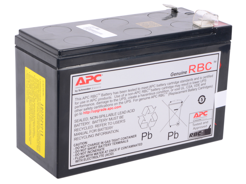 все цены на Батарея APC RBC2 12V 7Ah