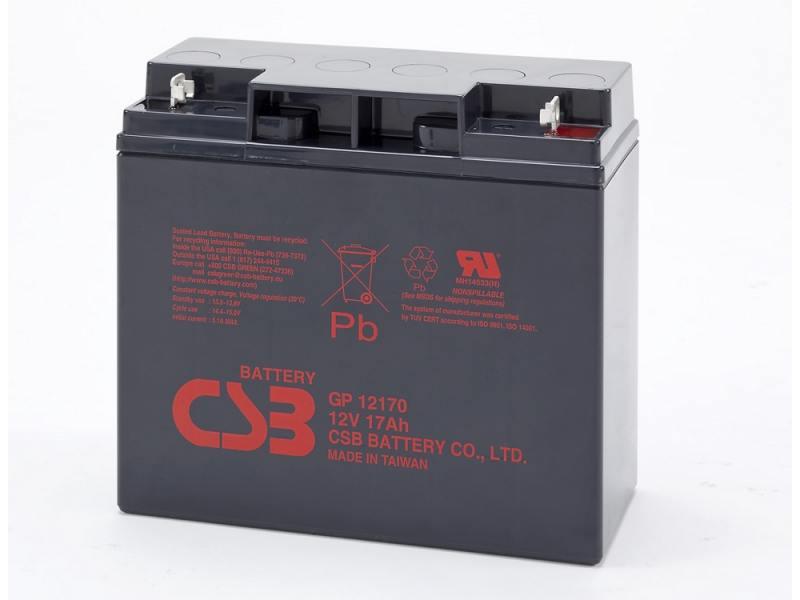 Батарея CSB GP12170 12V/17AH B3 фляга stels csb 505wa 600мл