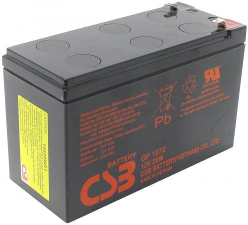 Батарея WBR GPL 1272 12V/7.2AH увеличенный срок службы до 10 лет батарея wbr gp 1245 16w 12v 4ah
