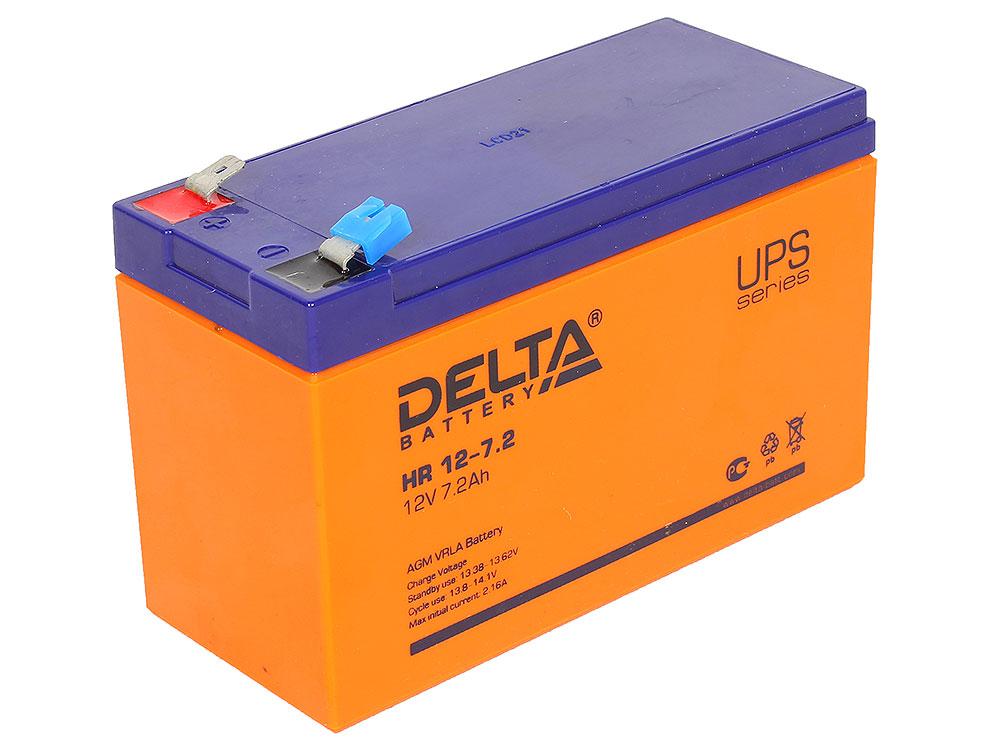 HR 12-7.2 battery delta hr12 12 12a hs 12w