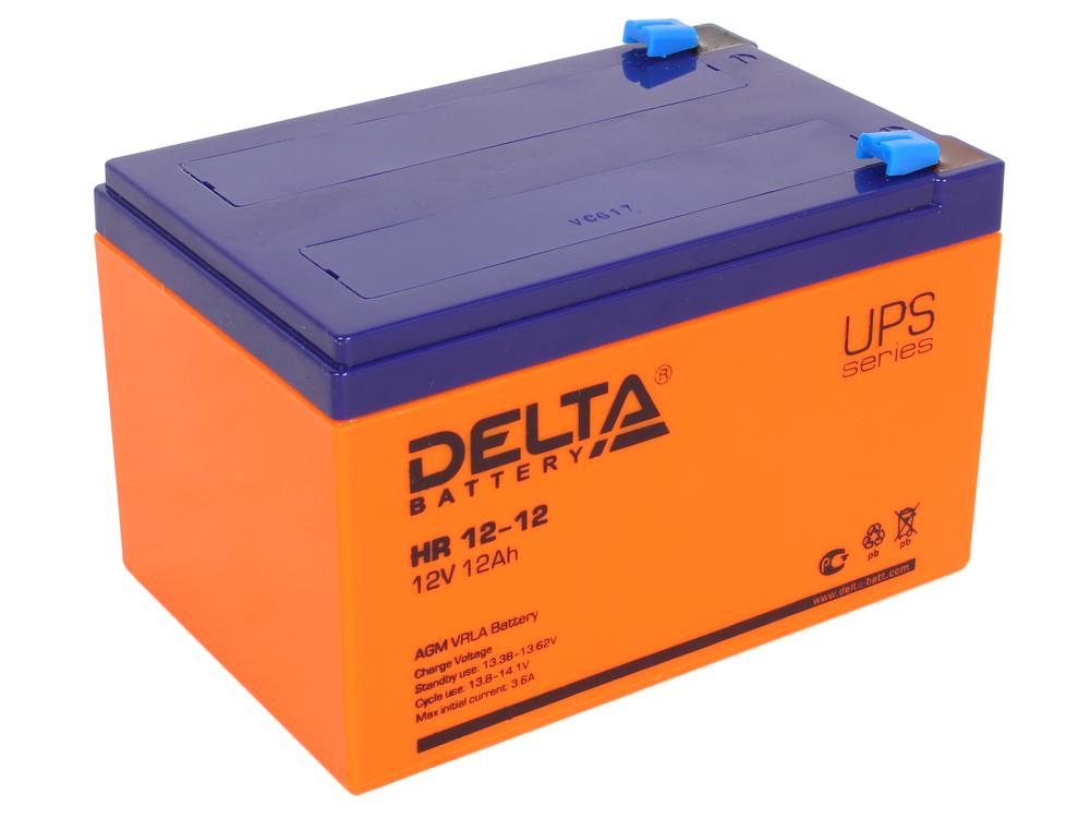 HR 12-12 аккумулятор delta hr 12 100