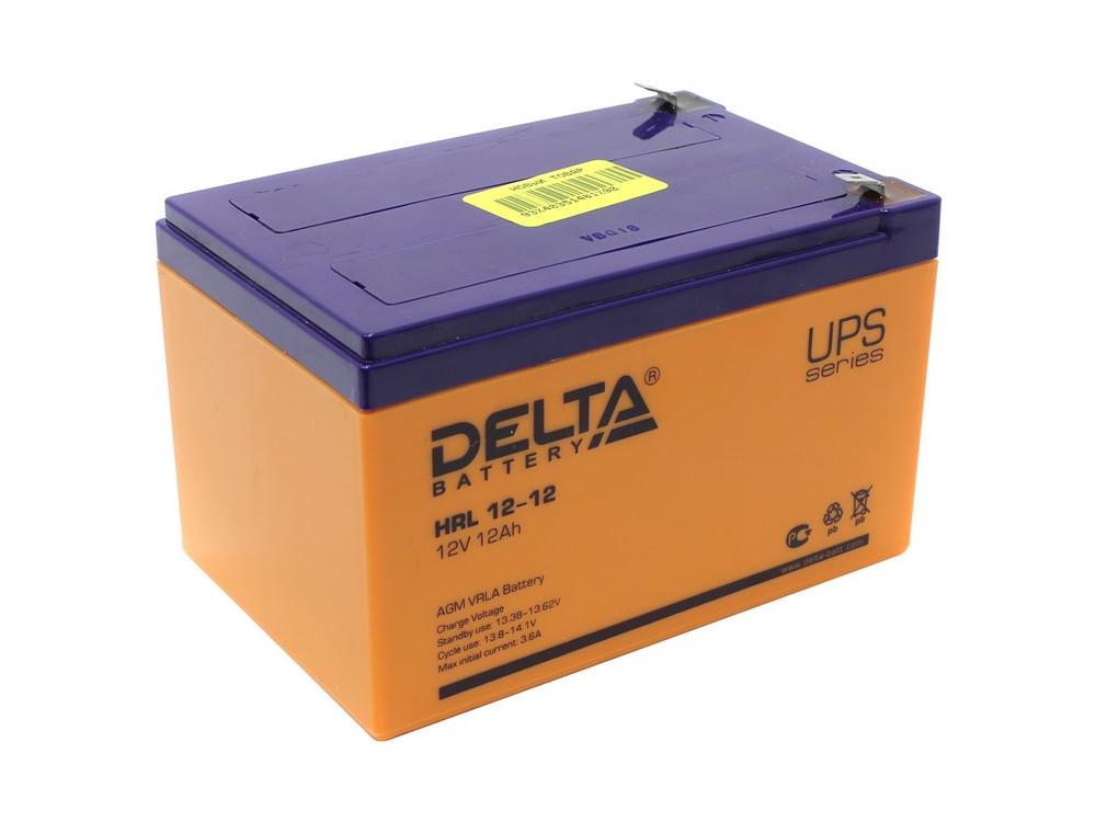 Аккумулятор Delta HRL 12-12 12V12Ah