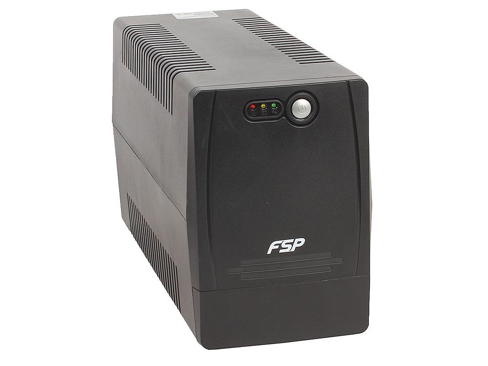 ИБП FSP DP 1000 1000VA/600W (4 IEC) ибп fsp dp 650 650va 360w 4 iec