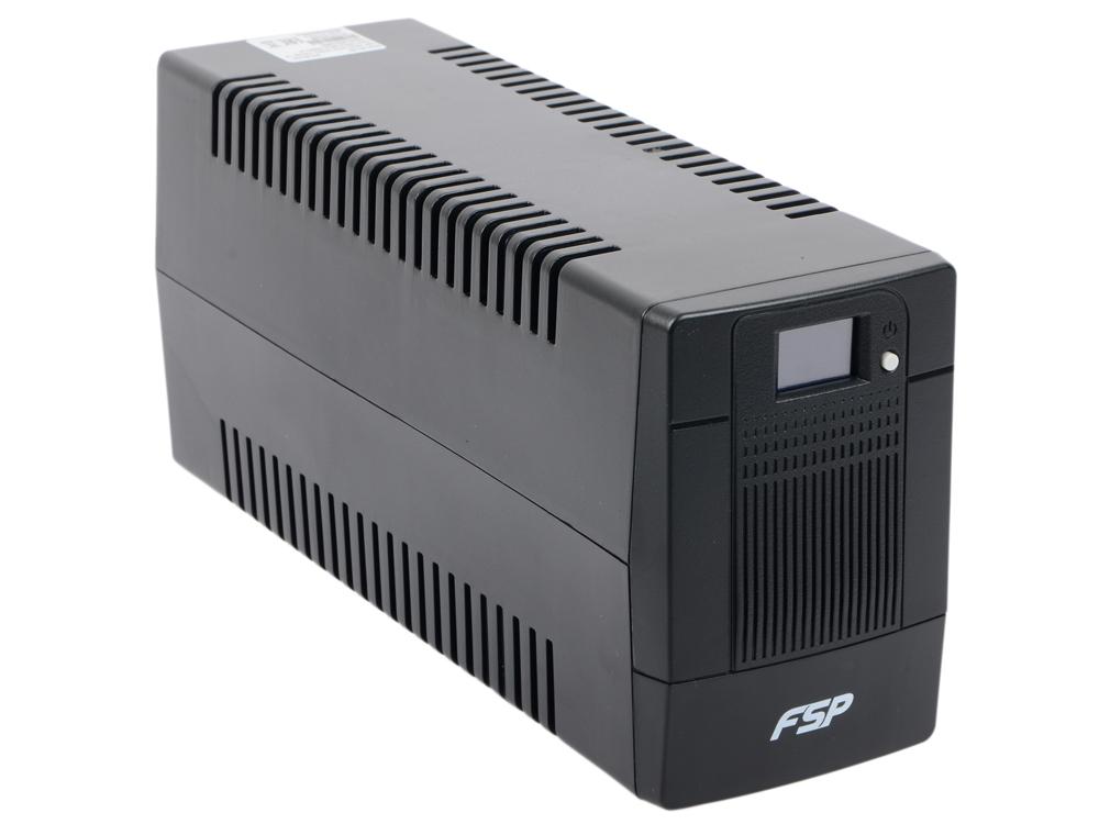 ИБП FSP DPV 850 850VA/480W (4 IEC) ибп fsp aga 600 600va 360w 3 3 euro