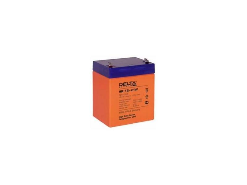Батарея Delta HR 12-21W 5Ач 12B hd 12b