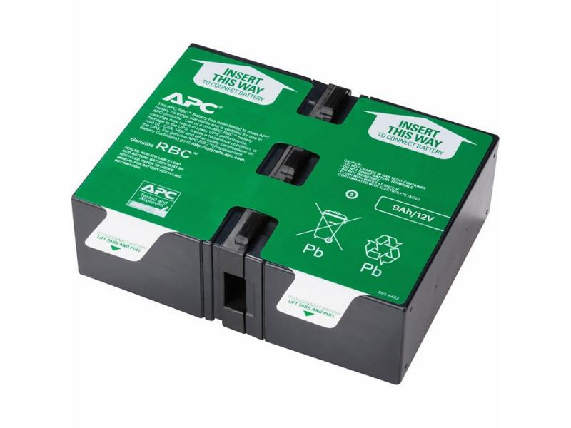 Батарея APC APCRBC124 Replacement Battery Cartridge 124 батарейный модуль для ибп apc rbc116 replacement battery cartridge 116 apcrbc116