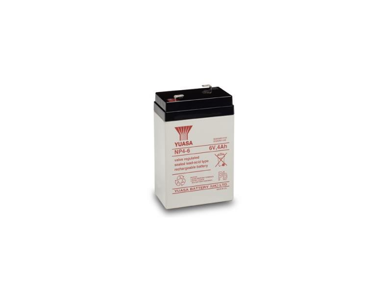 Батарея Yuasa NP4-6 6V/4Ah