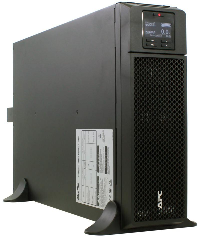 ИБП APC SMART SRT 5000VA SRT5KXLI ибп apc smart srt rm 10000va srt10krmxli